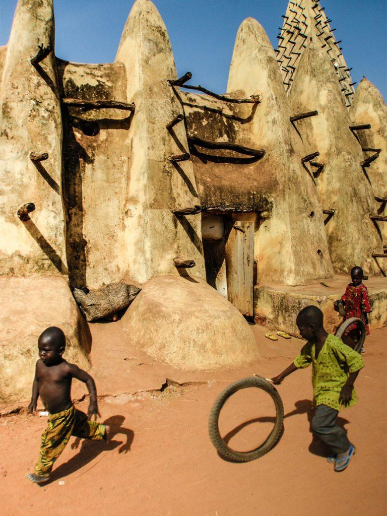 Crianças na Burkina Faso