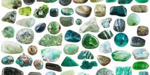 pedras verdes