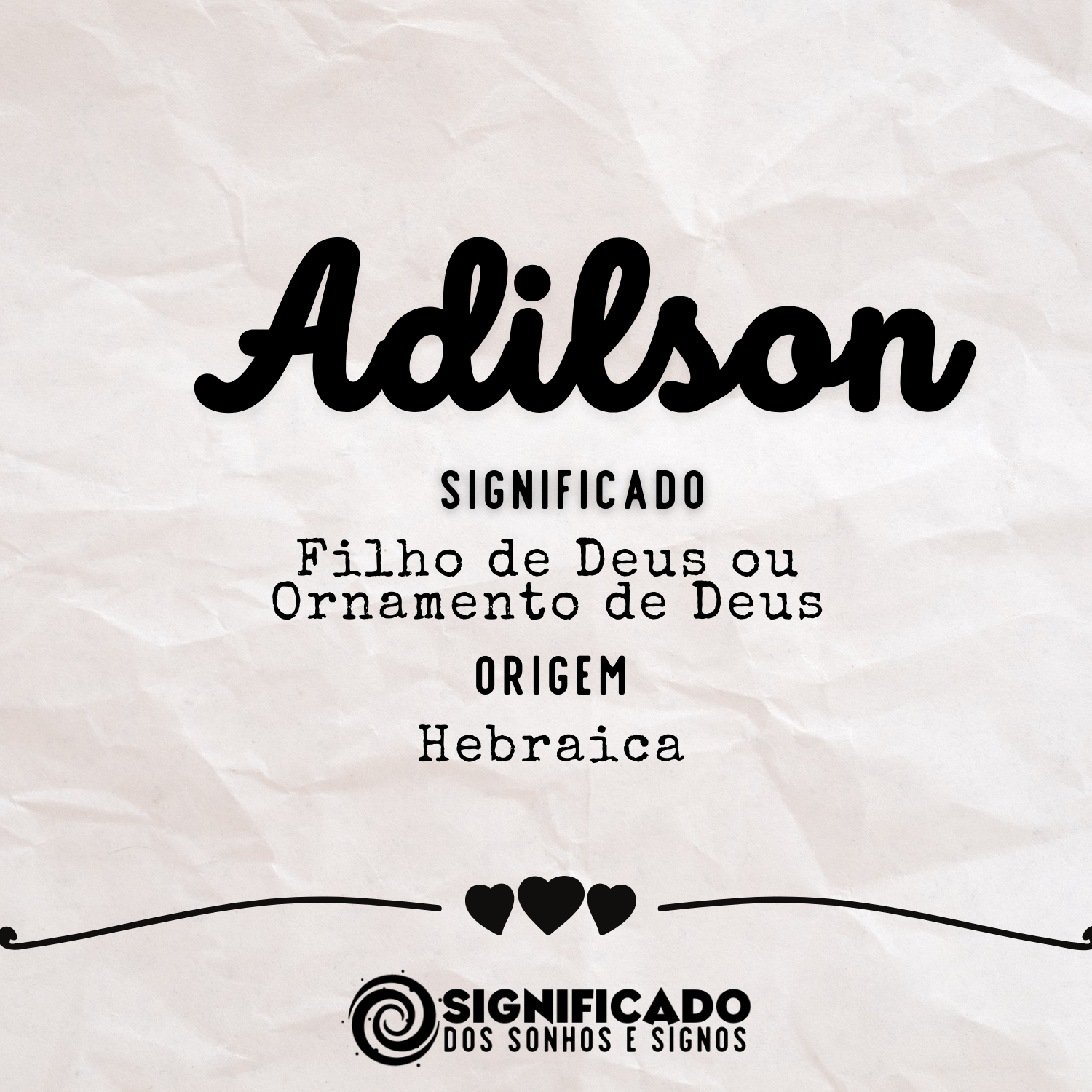 Significado do nome Adilson