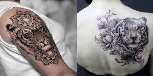 Tatuagem Tigre