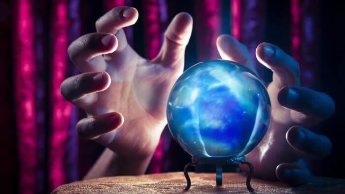 Bola de cristal: como funciona?
