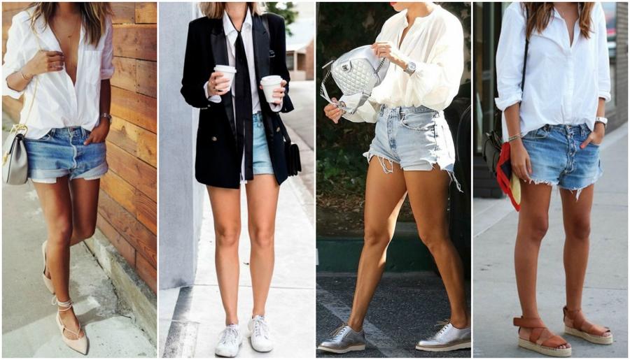 camisa com shorts