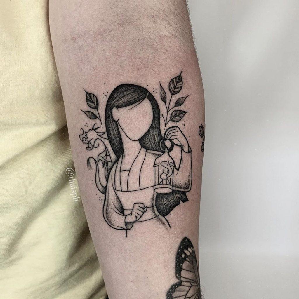 Herói ou heroína - Tatuagem