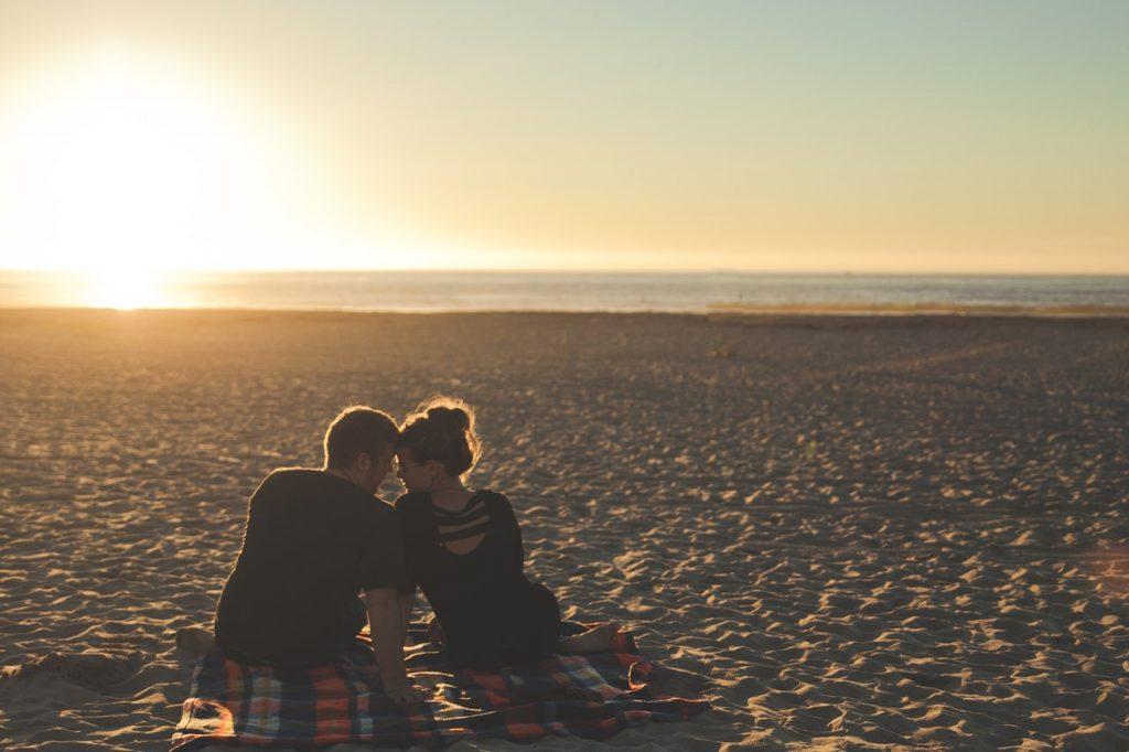 Pedido de casamento - momento íntimo
