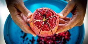 fruta romã