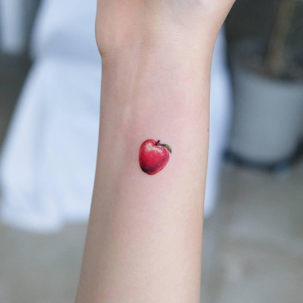 Tatuagem de Maçã