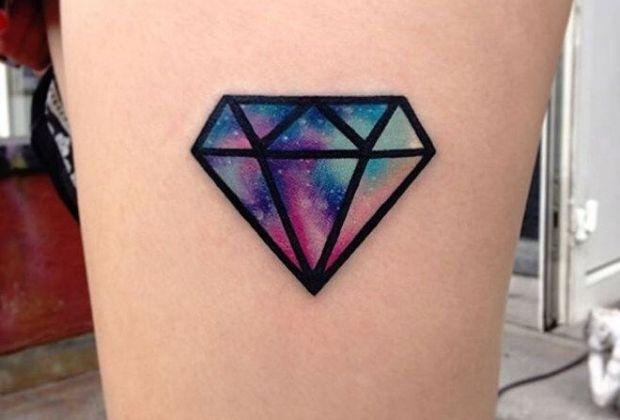 Diamante - Melhores tatuagens para o signo de Virgem