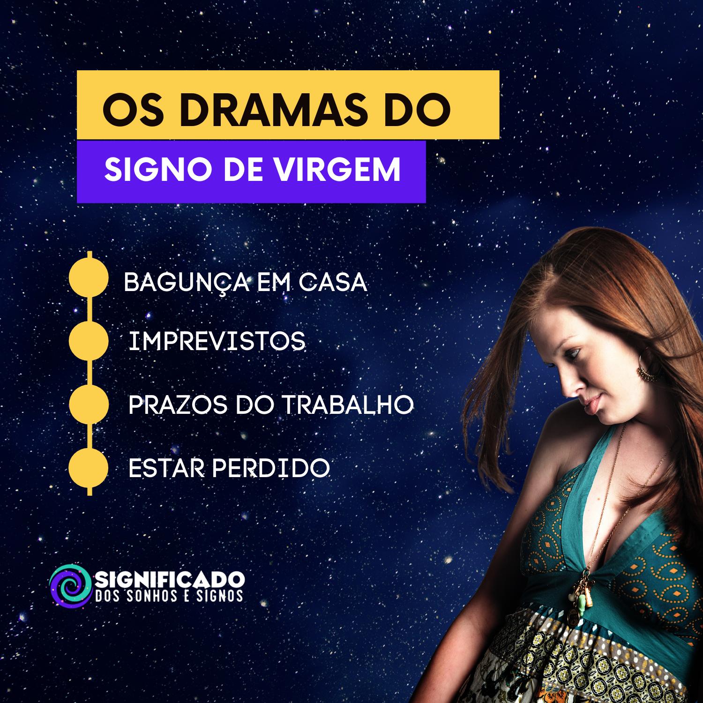 Os dramas do Signo de virgem