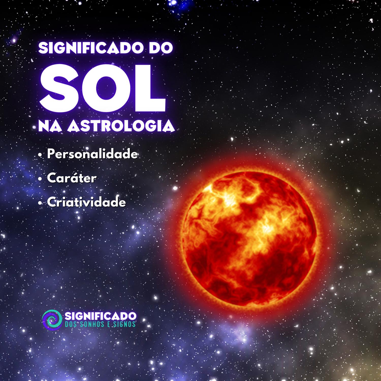 Significado de sol na astrologia