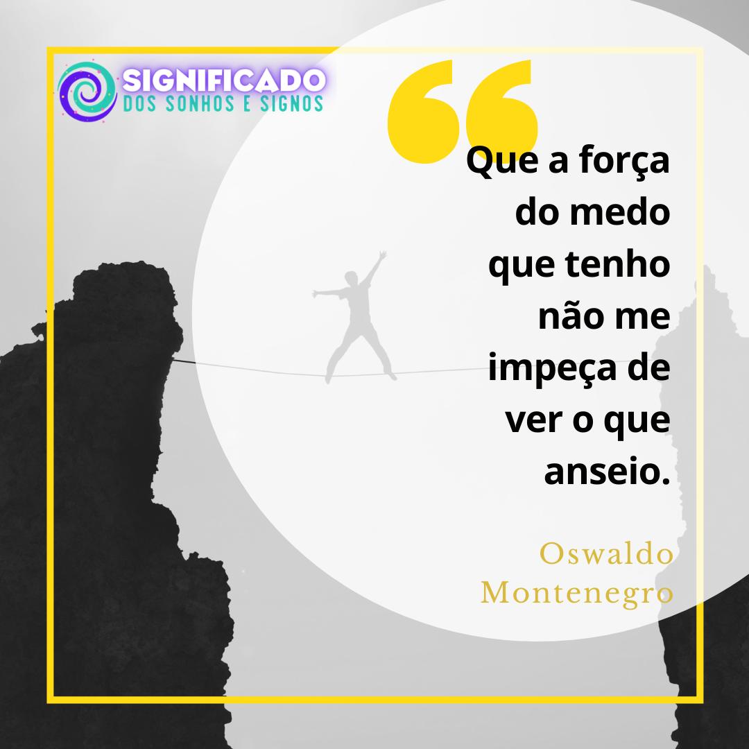 Mensagem de Oswaldo Montenegro