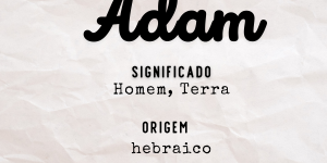 Significado do nome Adam