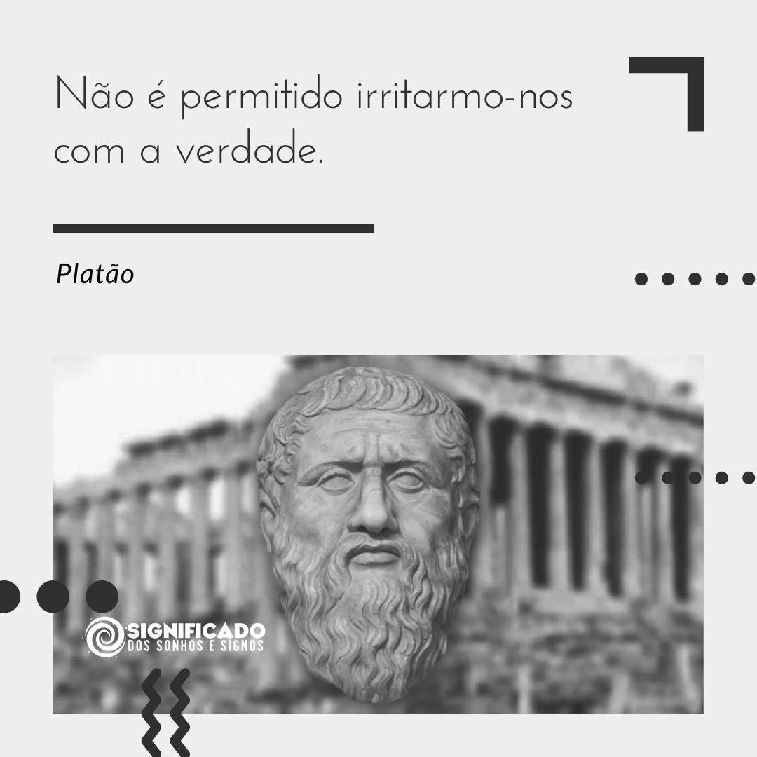 Frase de Platão sobre educação