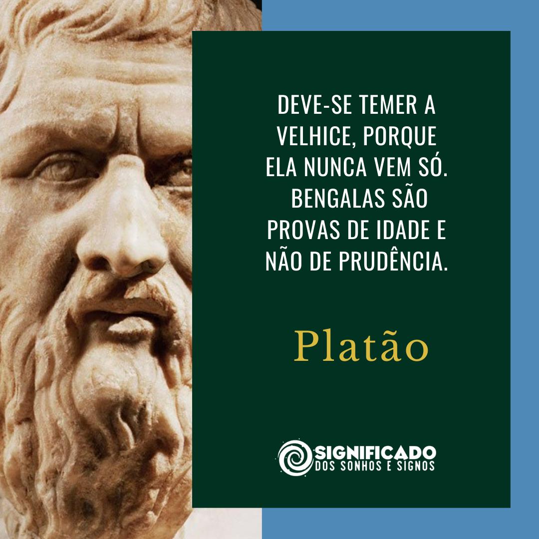 Citação de Platão