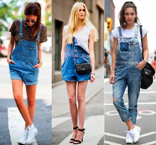 Look para o signo de câncer: vestido jeans