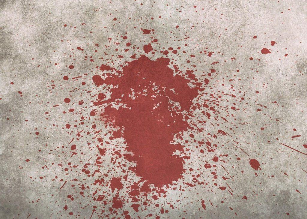 Sonhar com manchas de sangue