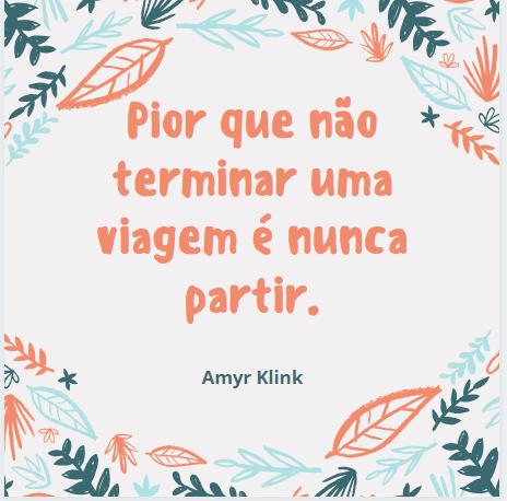 Frases Amyr Klink