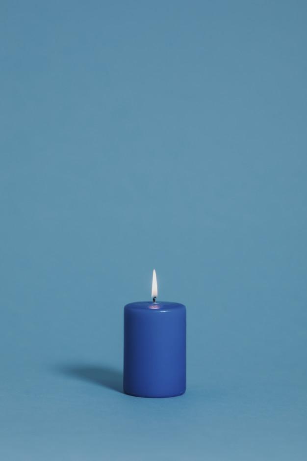 Vela azul: qual seu significado?