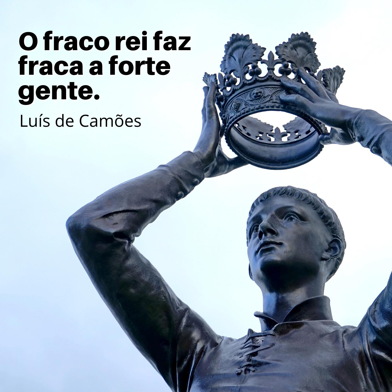 Luís de Camões - Frases para Mensagens e Status