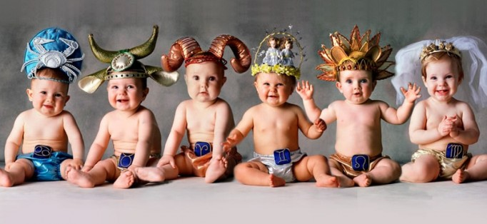 Como é a criança de cada signo?